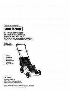 Lawn Mower Owner U0026 39 S Manual