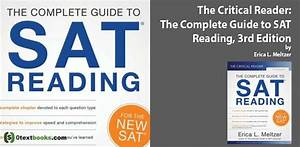 The Critical Reader  The Complete Guide To Sat Reading 3rd Edition Pdf