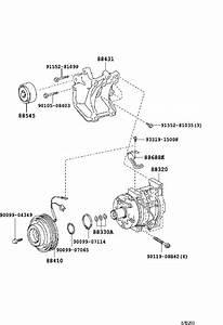 Toyota 4runner A  C Compressor Bracket