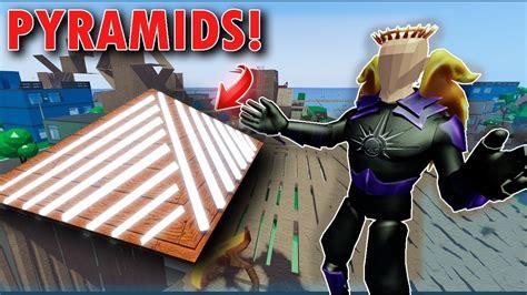 strucid update adding pyramids  strucid showcase