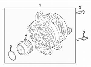 Ford Taurus Alternator  Amp  Liter  New