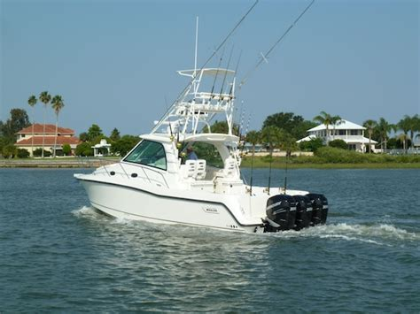 Boat Trader Whaler by Boston Whaler 345 Conquest Boat Review Articles