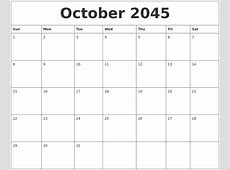 August 2045 Free Downloadable Calendar