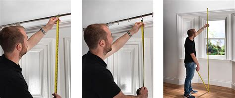 measuring net curtains for bay windows curtain