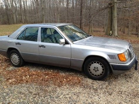 how petrol cars work 1992 mercedes benz 300d electronic toll collection find used 1992 mercedes 300d 2 5 turbo diesel in upper marlboro maryland united states for us