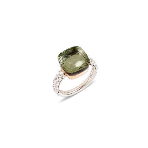 nudo pomellato ring pomellato nudo ring top wesselton 18 carat white gold