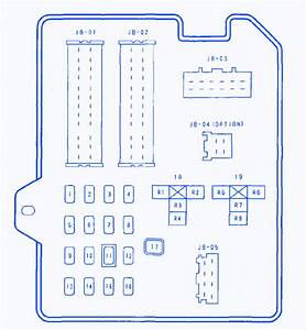 Mazda 6 2 3 2004 Fuse Box  Block Circuit Breaker Diagram
