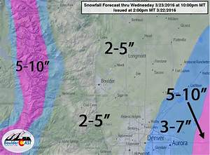 Another round of snow for Wednesday (Updated: Bumped up ...