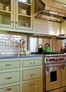 green kitchen tile backsplash an eco friendly farmhouse green cabinets stove and 4030