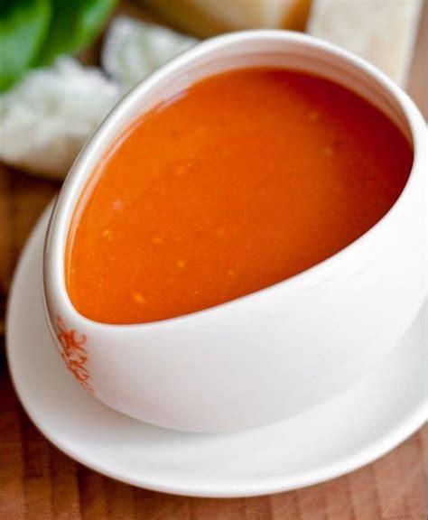 einfache schnelle brotaufstriche einfache tomatensuppe mit dosentomaten oliver kochen pesto sauce vegetarian soup