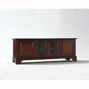 Crosley furniture lafayette 60in low profiletv stand in for Home furniture lafayette la locations