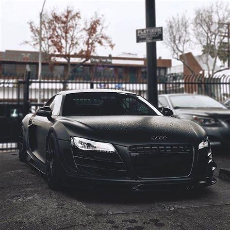 Matte Black Audi R8 V10 ⚫️