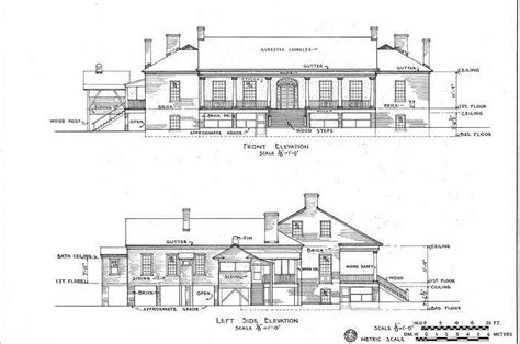 significance  architectural plans  elevations