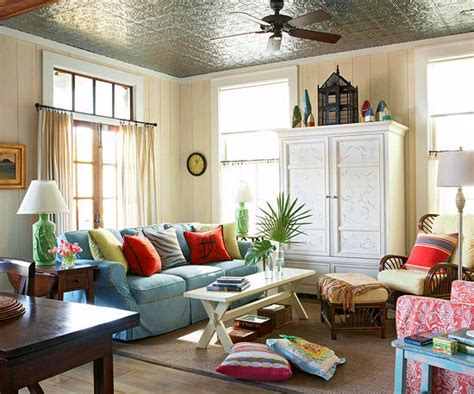 A Bright Home To Give A Family A Taste Of The by 20 Decorating Ideas For Family Friendly Living Room