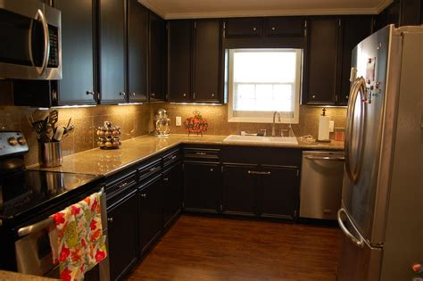 black kitchen cabinet ideas simple tips for painting kitchen cabinets black my