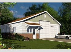Traditional House Plans RV Garage 20131 Associated