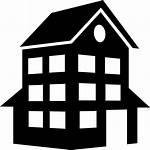 Building Icon Svg Silhouette Clipart Clip Luxury