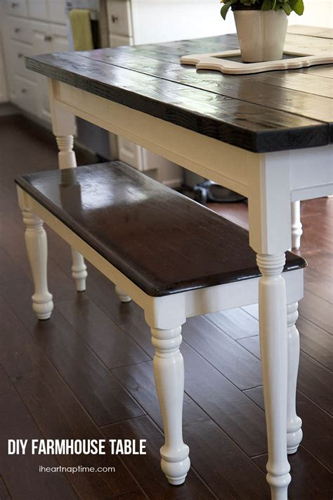 diy kitchen furniture pdf diy how to build a farmhouse kitchen table