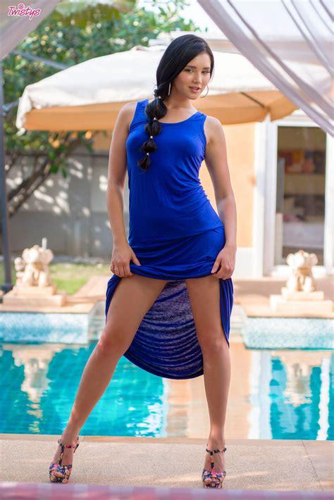 Erotic Model Long Dress Twistys Hub