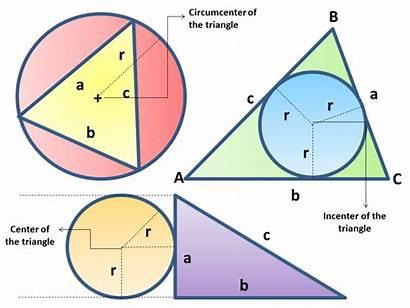 Geometry Triangles Plane Calculator Circles Techniques Triangle