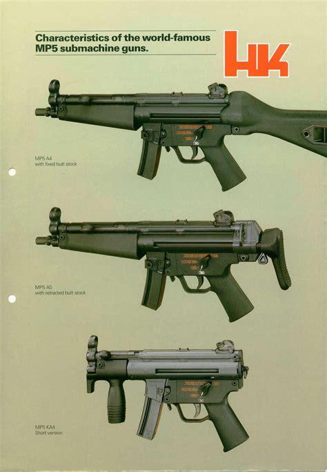 mp submachine guns brochure