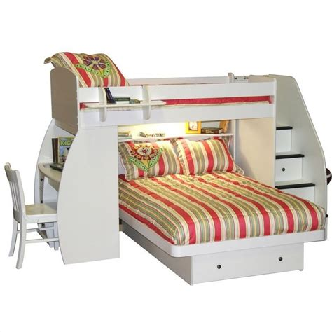 Space Saver Desk Bed by Berg Furniture Space Saver Loft Bed