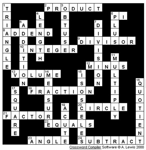 marvel  mathematics crossword answer key games