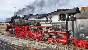 Br 41 1150-6 Mit Dampfsonderzug In Buchloe Im Allg U00e4u