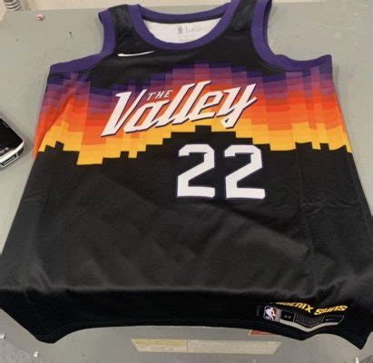 phoenix suns  valley city edition uniforms reportedly