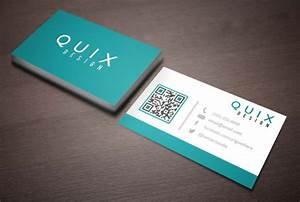 design an awesome double sided business card by quixdesign With double business card