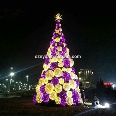 outdoor led tree lighted cone tree