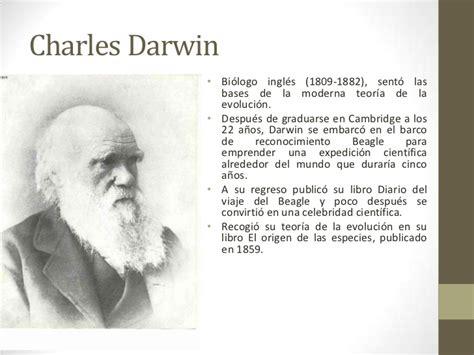 charles darwin y su teor 237 a de la evoluci 243 n