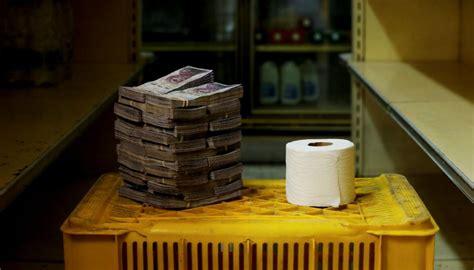 venezuela  cheaper   cash  toilet paper