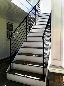 Custom Horizontal Wrought Iron Railings