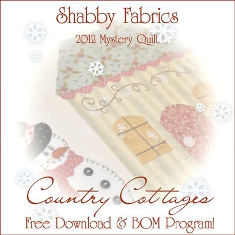 shabby fabrics patrones gratis el blog de dori patrones gratis bom 2012 shabby fabrics