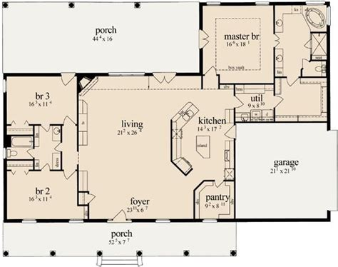 open floor house plans two simple open floor plan homes awesome best 25 open floor