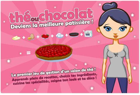 jeux cuisine en ligne the ou chocolat le jeu en ligne de cuisine sucr 233 e