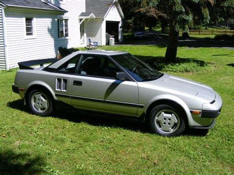manual cars for sale 1985 toyota mr2 transmission control purchase used 1985 toyota mr2 gt coupe 2 door 1 6l 12 500 original miles near mint in eden