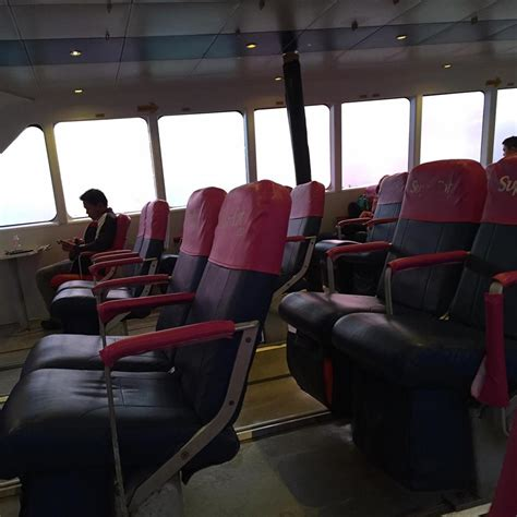 Ferry Boat Bohol To Cebu by Bohol Ferry Review Of Supercat Business Class From