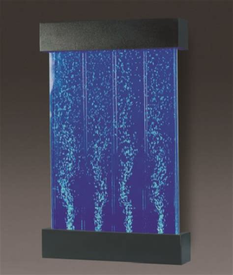 wall mounted bubble wall  water feature