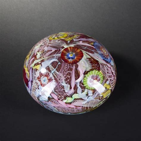 boule en verre boule presse papier en verre de murano xxe si 232 cle 2014031132 expertissim