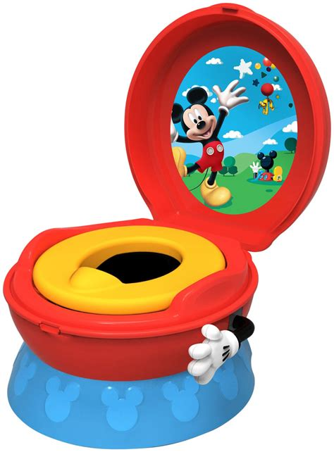 disney mickey mouse potty chair mickey mouse 3 in 1 celebration potty system potty