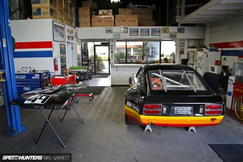 car garage for z car garage where datsun geeks rule speedhunters