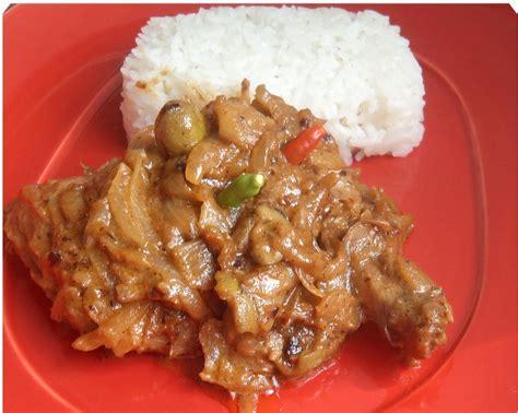yassa au poulet recettes africaines