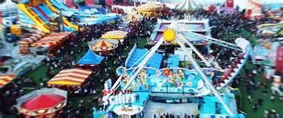 Carnival Fun Rides Bay Marina Eating While