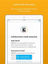 Best iPad Word Processors: iPad/iPhone Apps AppGuide