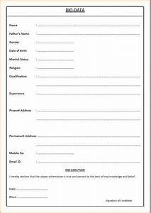 marriage biodata in english image result for simple biodata format for job fresher
