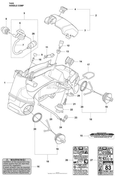 Husqvarna 435 Chainsaw Parts Diagram