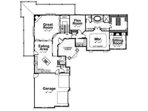 V Shaped Home Design : V Shaped Ranch House Plans