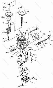 Polaris Atv 1999 Oem Parts Diagram For Carburetor